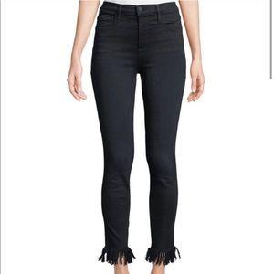 Frame Denim Ali High Rise Skinny Jeans - Edgewater
